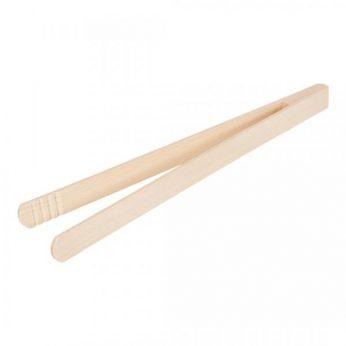 Serveertang hout 30cm
