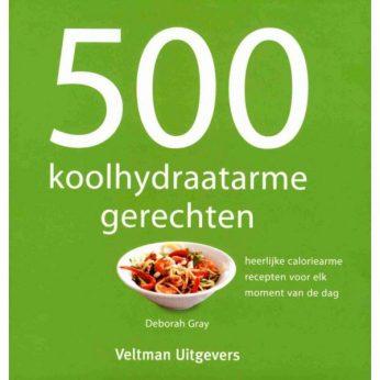 500 koolhydraatarme recepten