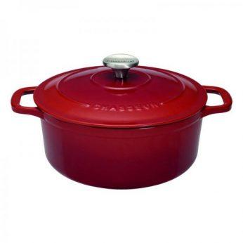 Braadpan 26cm rood Chasseur