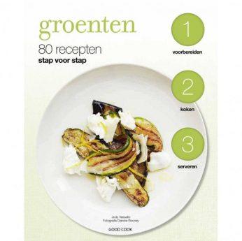 Groente, 80 recepten stap voor stap