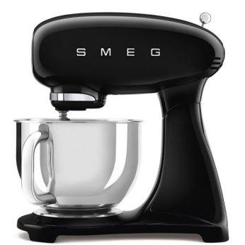 Kneedmachine , zwart volledig in kleur Smeg - in Keukenmachines