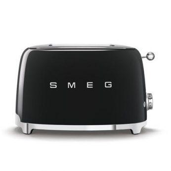 Broodrooster 2×2, zwart Smeg - in Broodbereiding & Grills