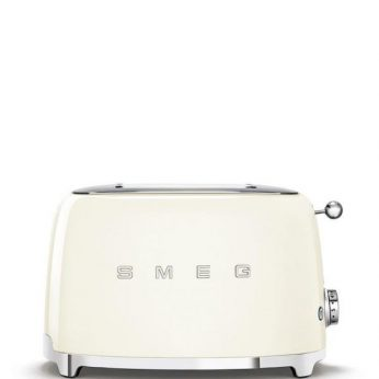 Broodrooster 2×2, creme Smeg - in Broodbereiding & Grills