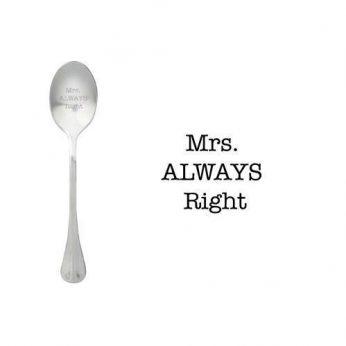 OMS: Mrs.Always Right Style de Vie