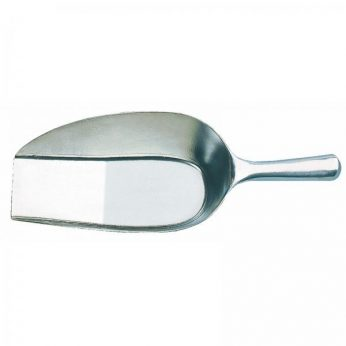 Winkelschep 125mm aluminium