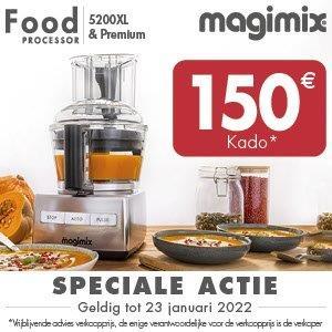 Keukenmachine 5200XL Premium mat chroom Magimix - in Keukenmachines