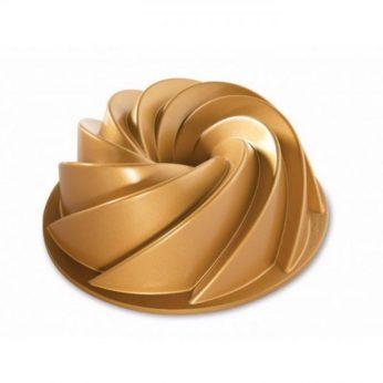 Bakvorm Heritage gold Tulband Nordic Ware