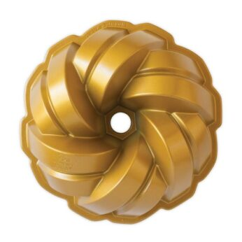 Bakvorm Braided gold Tulband Nordic Ware