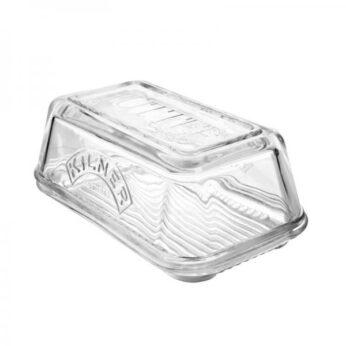 Botervloot rechthoekig glas Kilner