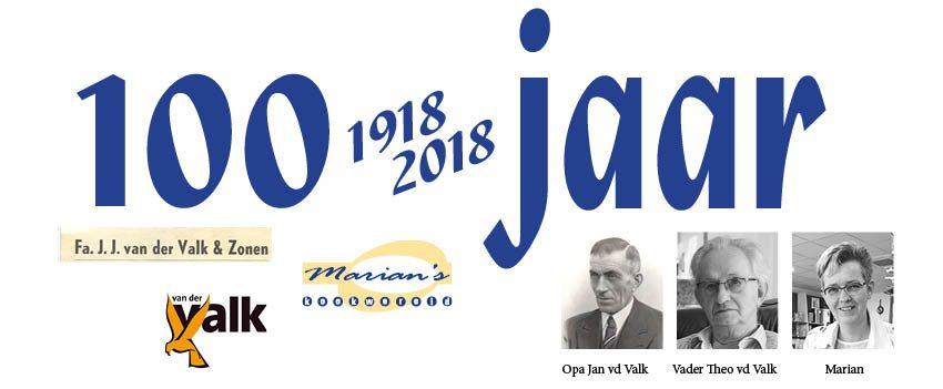 1918-2018    100 JAAR!
