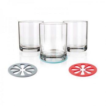 Glasonderzetters 4 stuks Dotz