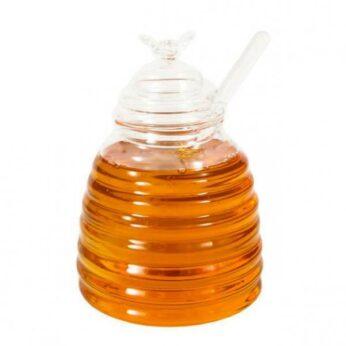 Honingpot met draaier glas