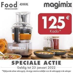 Keukenmachine CS4200XL mat chroom Magimix - in Keukenmachines