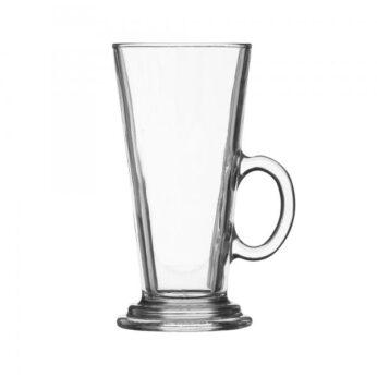 Latte macchiato glas met oor Ravenhead