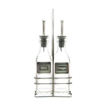 Olie & azijnstel glas Point Virgule - in Olie- & Azijnstellen