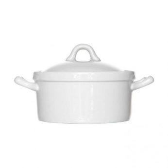 Ovenschaaltje wit rond Cosy & Trendy
