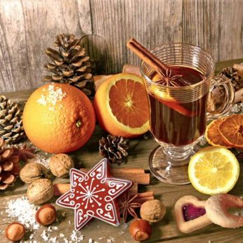 Servetten Taste of Advent Bowls & Dishes