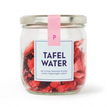 Tafelwater-navulling aardbei-hibiscus HKS
