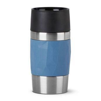 Thermomok 0.3 ltr Travel Compact Blauw Emsa