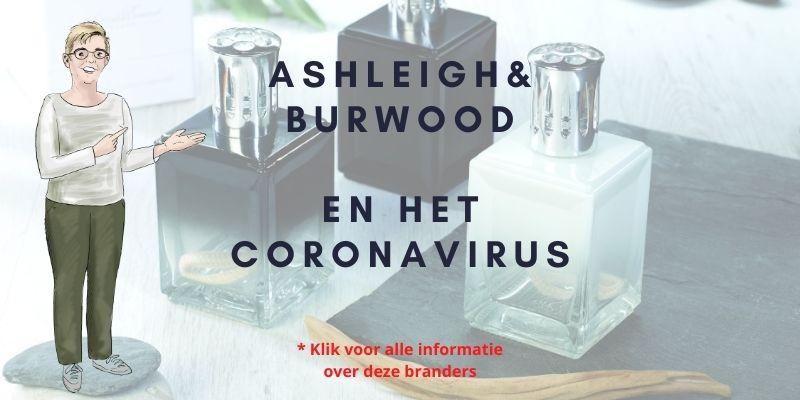 Ashleigh & Burwood en het Corona virus