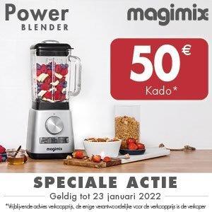 Blender Power mat chroom Magimix - in Keukenmachines