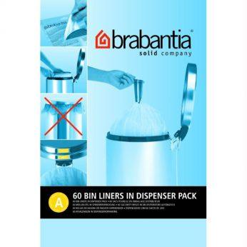 Vuilniszakken 3 ltr.dispence A Brabantia