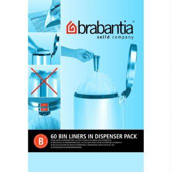 Vuilniszakken 5 liter 60 st. B Brabantia