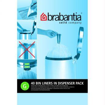 Vuilniszakken 30 liter 40st. G Brabantia