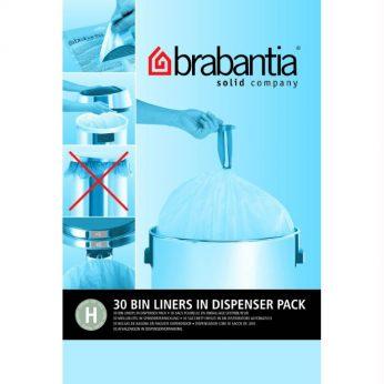 Vuilniszakken 50 liter 30 st.H Brabantia