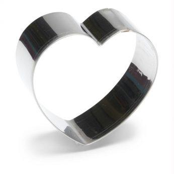 Uitsteekvorm hart 10 cm Patisse - in Uitsteekvormen