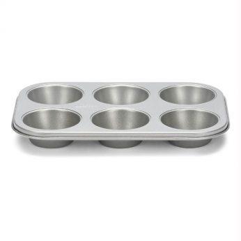 Muffinplaat 6 dlg Silvertop Patisse