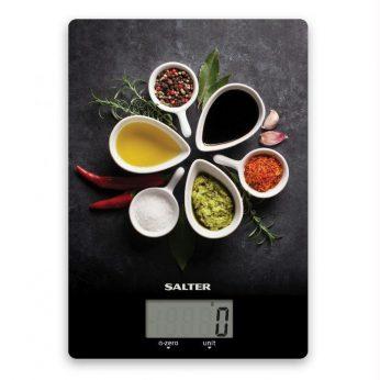 Keukenweegschaal Spicy Salter* - in Wegen & Meten