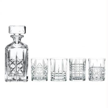Whisky set Highland 5 dlg - in Glazen