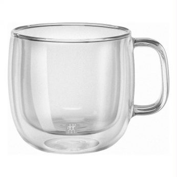 Dubbelw.glas thee m/o 2st. Zwilling
